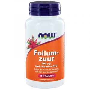 Foliumzuur 800 mcg 250 tab